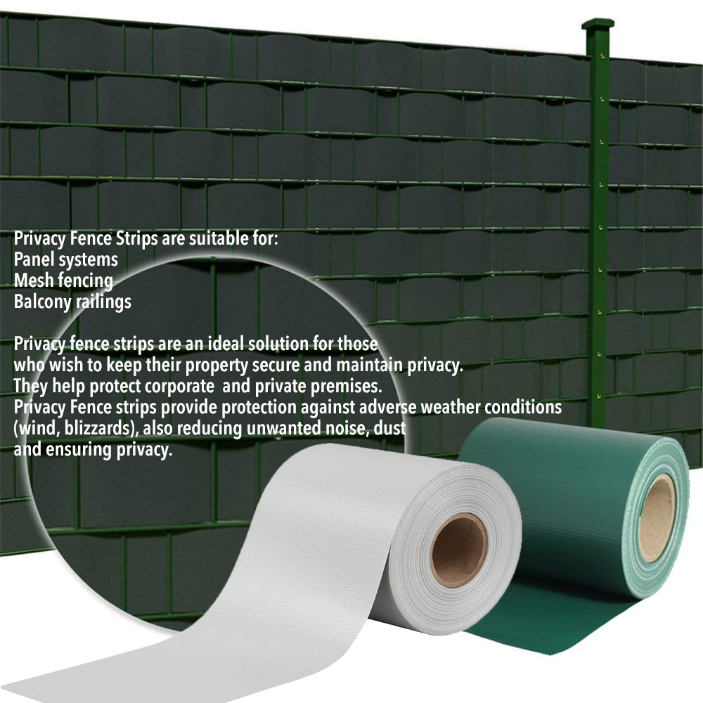 Privacy Fence Panel Strip| Chain Link Privacy Slats| Tarpaulin Fence Privacy Strips